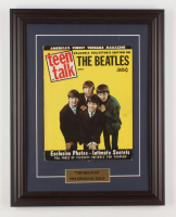 1964 The Beatles 14.5x18.5 Custom Framed Magazine Display at PristineAuction.com