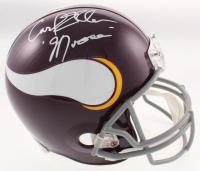 "Carl Eller Signed Minnesota Vikings Full-Size Helmet Inscribed ""Moose"" (TSE COA) at PristineAuction.com"