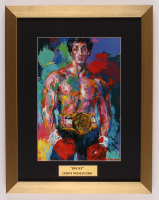 "LeRoy Neiman ""Rocky"" 14.5x18.5 Custom Framed Print Display at PristineAuction.com"