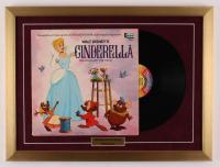 "Walt Disney's ""Cinderella"" 18x24 Custom Framed Vinyl Record Album Display at PristineAuction.com"