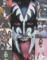 Gene Simmons Signed KISS 8x10 Photo (JSA COA) at PristineAuction.com