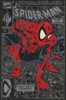 "1990 ""Spider-Man"" Issue #1 Silver Edition Marvel Comic Book at PristineAuction.com"