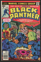 "1977 ""Black Panther"" Issue #1 Marvel Comic Book at PristineAuction.com"