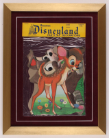 Vintage Disneyland 15x19 Custom Framed Party Decorations Display at PristineAuction.com