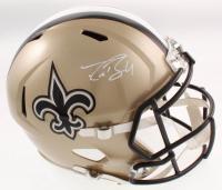 Drew Brees Signed New Orleans Saints Full-Size Speed Helmet (JSA COA) at PristineAuction.com