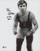 "Dan Gable Signed Iowa State Cyclones 8x10 Photo Inscribed ""ISU"" (Beckett COA) at PristineAuction.com"