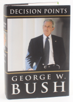 """George W. Bush Signed """"Decision Points"""" Hard Cover Book (JSA COA) at PristineAuction.com"""
