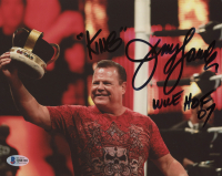 """Jerry """"The King"""" Lawler Signed 8x10 Photo Inscribed """"King"""" & """"WWE HOF 07"""" (Beckett COA) at PristineAuction.com"""