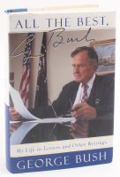 "George H.W. Bush Signed ""My Life in Letters & Other Writings"" Hard Cover Book (JSA COA) at PristineAuction.com"