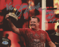 "Jerry ""The King"" Lawler Signed 8x10 Photo Inscribed ""King"" & ""WWE HOF 07"" (Beckett COA) at PristineAuction.com"