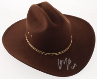 "Chandler Riggs Signed ""The Walking Dead"" Carl Grimes Sheriff Hat Inscribed ""Carl"" (Radtke COA) at PristineAuction.com"