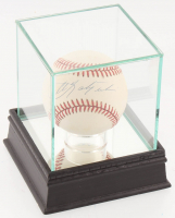 Carl Yastrzemski Signed OAL Baseball with Display Case (PSA COA) at PristineAuction.com