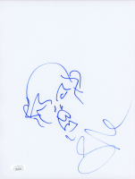 """Greg Nicotero Signed """"The Walking Dead"""" 8.5x11 Hand-Drawn Sketch (JSA COA) at PristineAuction.com"""