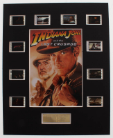 """Indiana Jones and the Last Crusade"" LE 8x10 Custom Matted Original Film / Movie Cell Display at PristineAuction.com"
