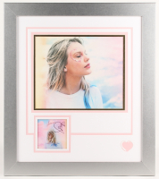 "Taylor Swift Signed 22.5x25.5 Custom Framed ""Lover"" Album Photo Display (JSA COA) at PristineAuction.com"