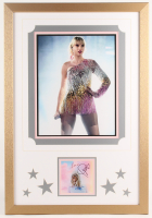 Taylor Swift Signed 20x29 Custom Framed Photo Display (JSA COA) at PristineAuction.com