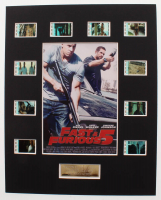 """Fast & Furious 5"" LE 8x10 Custom Matted Original Film / Movie Cell Display at PristineAuction.com"