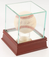 "Hoyt Wilhelm Signed ONL Baseball Inscribed ""HOF 85"" with Display Case (PSA COA) at PristineAuction.com"