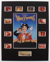 """Mary Poppins"" LE 8x10 Custom Matted Original Film / Movie Cell Display at PristineAuction.com"
