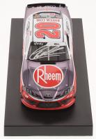 Christopher Bell Signed NASCAR #20 Rheem 2019 Supra - Color Chrome - 1:24 Premium Action Diecast Car (PA COA) at PristineAuction.com
