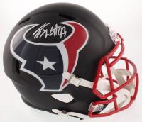 J.J. Watt Signed Texans Full-Size Matte Black Speed Helmet (JSA COA & Watt Hologram) at PristineAuction.com