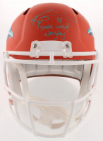 "Ricky Williams Signed Miami Dolphins Full-Size AMP Alternate Speed Helmet Inscribed ""Smoke Weed Everyday!"" (JSA COA) at PristineAuction.com"