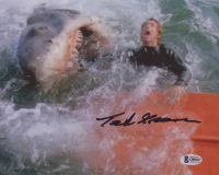 "Ted Grossman Signed ""Jaws"" 8x10 Photo (Beckett COA) at PristineAuction.com"