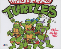 "Peter Laird Signed ""Teenage Mutant Ninja Turtles"" 8x10 Photo with Sketch Inscribed ""-2019-"" (Beckett COA) at PristineAuction.com"