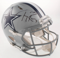 Tony Romo Signed Dallas Cowboys Full-Size Authentic On-Field Speed Helmet (Beckett COA) at PristineAuction.com