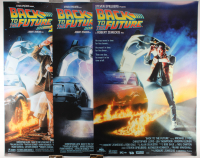 "Complete Set of (3) ""Back to the Future"" 27x39.5 Movie Posters with Part I, Part II & Part III at PristineAuction.com"