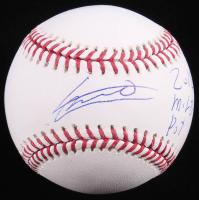 "Vladimir Guerrero Jr. Signed OML Baseball Inscribed ""2018 MILB POY"" (Guerrero Jr. COA) at PristineAuction.com"