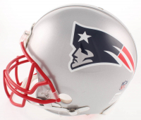 Tom Brady Signed New England Patriots Full-Size Authentic On-Field Helmet (TriStar Hologram & Steiner Hologram) at PristineAuction.com