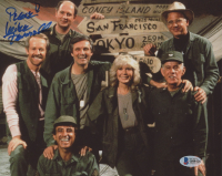"Mike Farrell Signed ""M*A*S*H"" 8x10 Photo Inscribed ""Peace"" (Beckett COA) at PristineAuction.com"