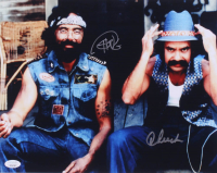 Cheech Marin & Tommy Chong Signed 11x14 Photo (JSA COA) at PristineAuction.com