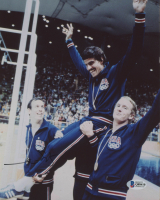Mark Spitz Signed Team USA 8x10 Photo (Beckett COA) at PristineAuction.com