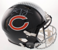 Mitch Trubisky Signed Chicago Bears Full-Size Authentic On-Field Hydro-Dipped Speed Helmet (Fanatics Hologram) at PristineAuction.com