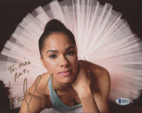 "Misty Copeland Signed 8x10 Photo Inscribed ""Best,"" (Beckett COA) at PristineAuction.com"
