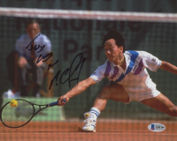 "Michael Chang Signed 8x10 Photo Inscribed ""Jesus Loves You"" (Beckett COA) at PristineAuction.com"