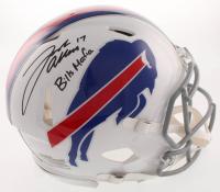 "Josh Allen Signed Buffalo Bills Full-Size Authentic On-Field Speed Helmet Inscribed ""Bills Mafia"" (JSA COA) at PristineAuction.com"