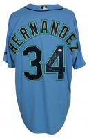 Felix Hernandez Signed Mariners Majestic Jersey (JSA COA) at PristineAuction.com