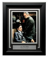 """Al Pacino """"The Godfather"""" 11x14 Custom Framed Photo Display at PristineAuction.com"""