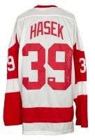 "Dominik Hasek Signed ""Doninator"" Jersey Inscribed ""HOF 14"" (JSA COA) at PristineAuction.com"