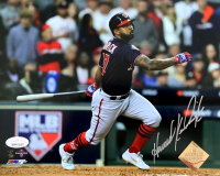 Howie Kendrick Signed Washington Nationals 2019 World Series 8x10 Photo (JSA COA) at PristineAuction.com