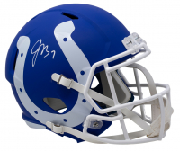 Jacoby Brissett Signed Indianapolis Colts Full-Size AMP Speed Helmet (JSA COA) at PristineAuction.com