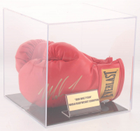 Mike Tyson Signed Pair of Everlast Boxing Gloves with Display Case (JSA COA) at PristineAuction.com