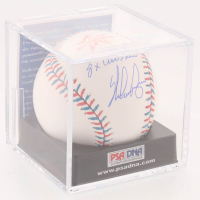 "Nolan Ryan Signed Official 2017 All-Star Game Baseball Inscribed ""8x All Star"" with Display Case (PSA COA - Graded 9.5) at PristineAuction.com"