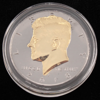 2018 JFK Gold Half Dollar Coin at PristineAuction.com