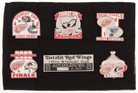 Detroit Red Wings LE Commemorative Pin Set with Original Sealed Case at PristineAuction.com