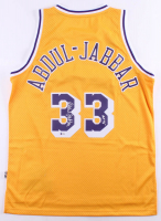 "Kareem Abdul-Jabbar Signed Los Angeles Lakers Jersey Inscribed ""HOF '95"" (Beckett COA) at PristineAuction.com"