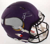 Stefon Diggs Signed Minnesota Vikings Full-Size Authentic On-Field Speed Helmet (Beckett COA) at PristineAuction.com